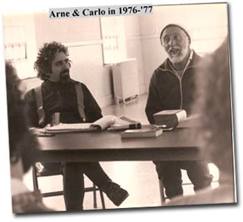Carlo and Arne